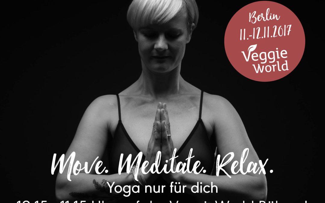 Veggie World in Berlin am 11./12.11.2017